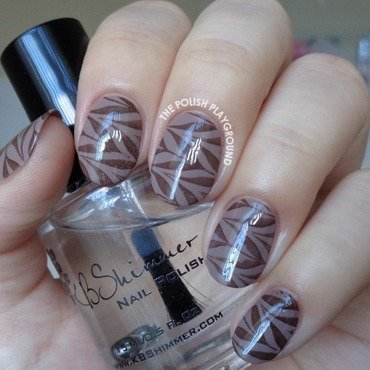Coffee 20inspired 20water 20marble 20stamping 20nail 20art thumb370f