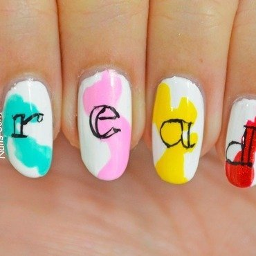 READ nail art by NailsContext