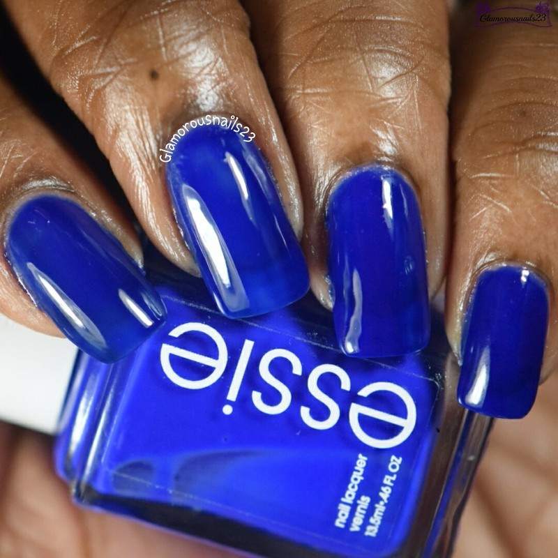 Essie Bouncer, It's Me! Swatch by glamorousnails23