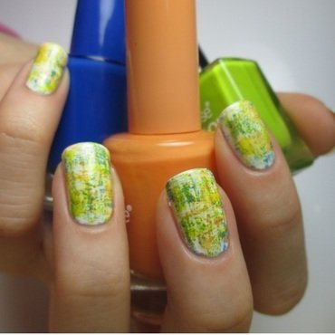 simple spring nails nail art by NailArt_T