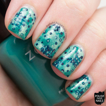 Patterned Pattern nail art by Marisa  Cavanaugh