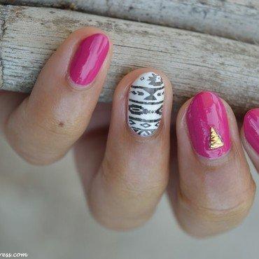Aztec nail art by MimieS Nail