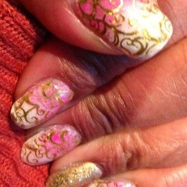 It's Valentine's nail art by cNewman