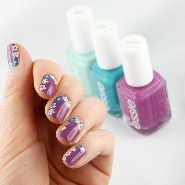 Flowerista Nail Art '16 nail art by Ann-Kristin
