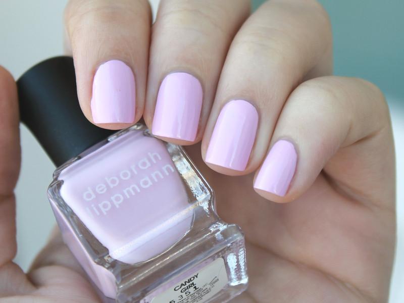 Deborah Lippmann Candy Girl Swatch by Moriesnailart
