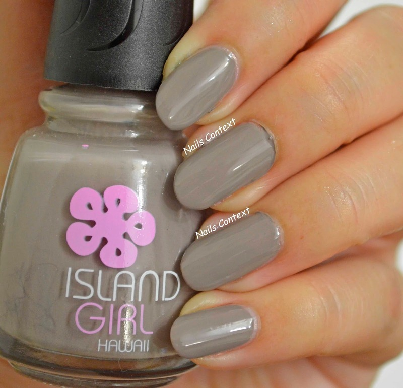 Island Girl 1518 Swatch by NailsContext