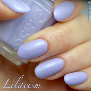 Essie Lilacism Swatch by Meltin'polish