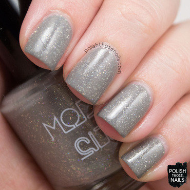 Model city polish wrapped in wool grey holo glitter swatch 3 thumb370f