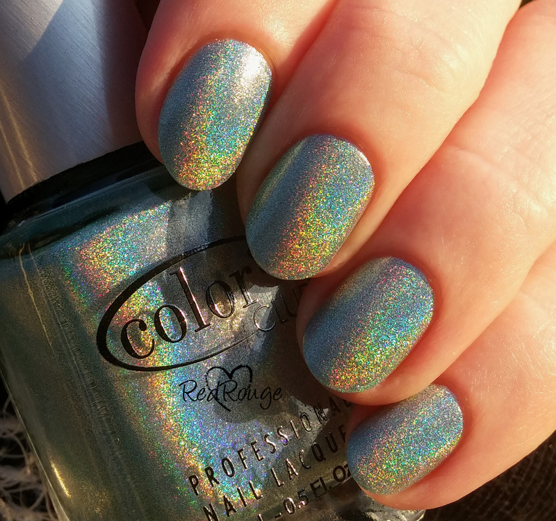 Color Club Angel Kiss Swatch by RedRouge
