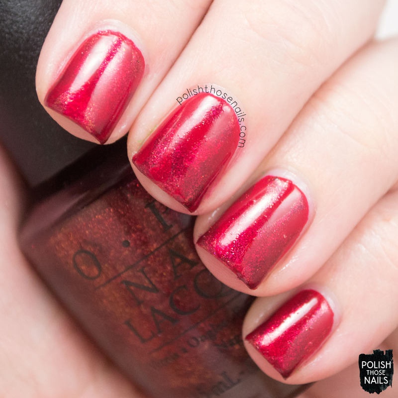 Reciprocal Red-y nail art by Marisa  Cavanaugh