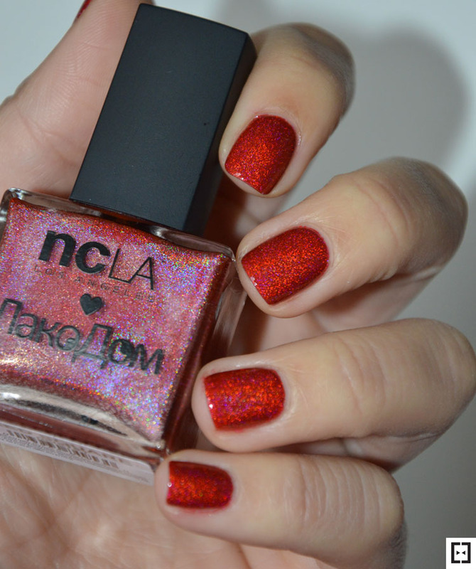 NCLA Red square Swatch by Sweapee