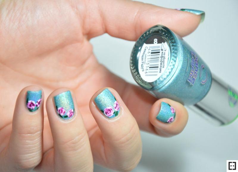ROSES  nail art by Sweapee
