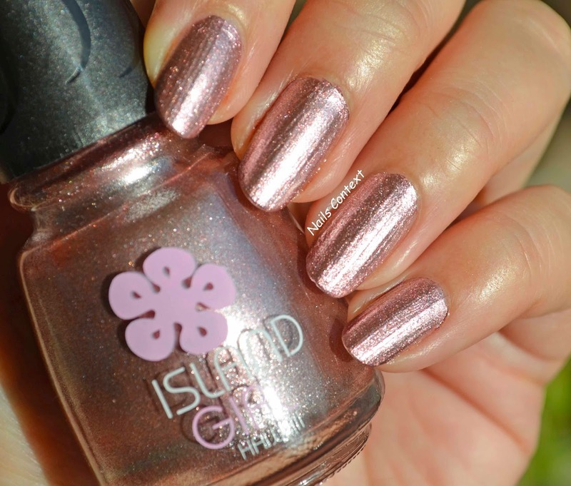 Island Girl Tropical Girl Swatch by NailsContext - Nailpolis: Museum ...
