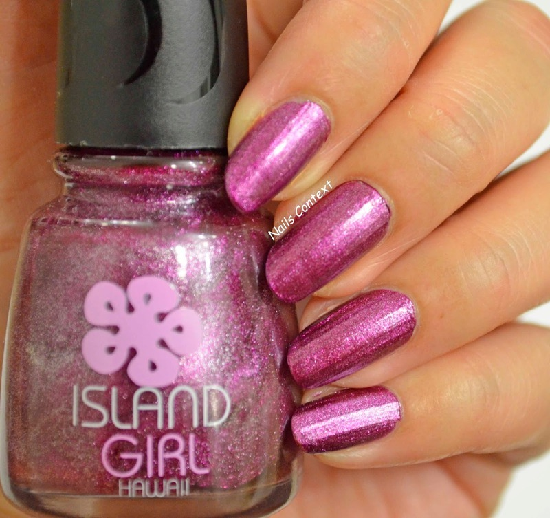 Island Girl Tropical Dream Swatch by NailsContext - Nailpolis ...