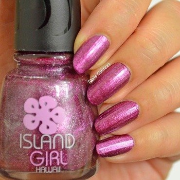 Island Girl Tropical Dream Swatch by NailsContext