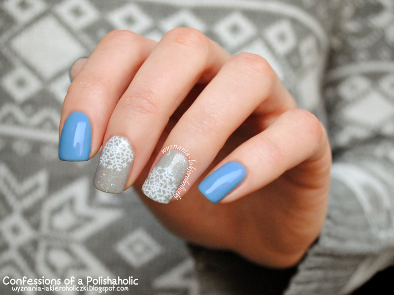 Winter nail art by Olaa