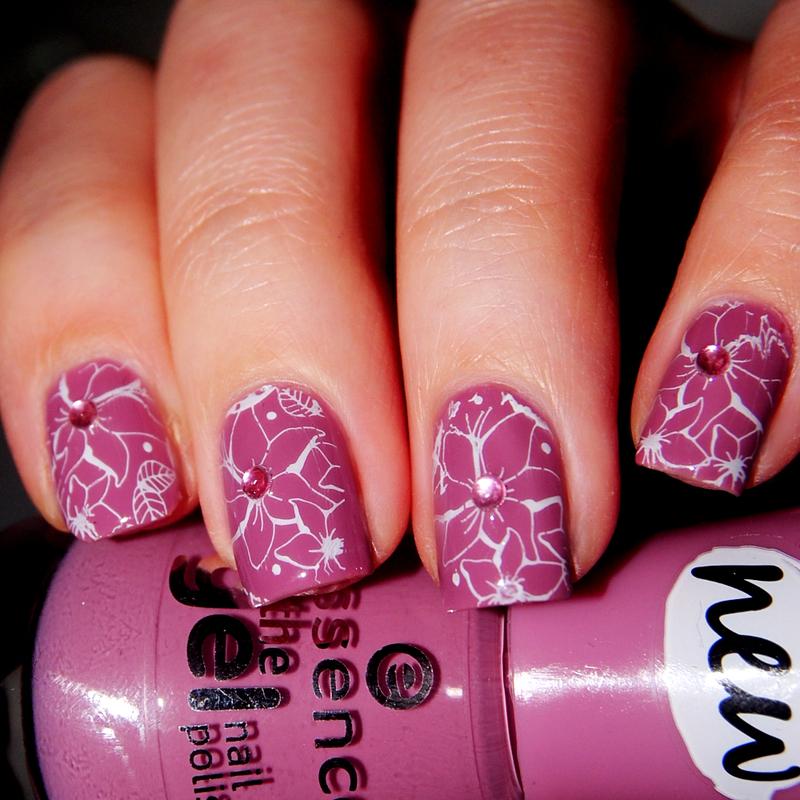 Rosewood nail art by Lackopfer