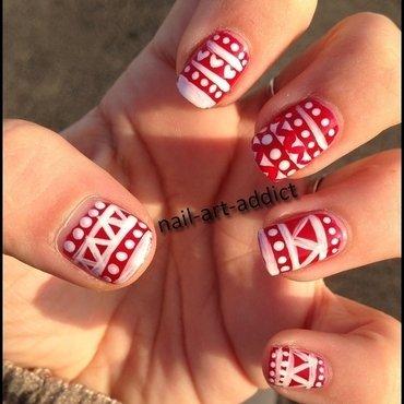 Nail Art : Motifs de Noël nail art by SowNails