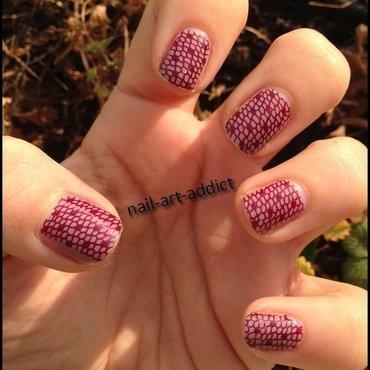 Nail Art : Stamping nail art by SowNails