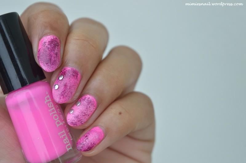 Sponge nails nail art by MimieS Nail