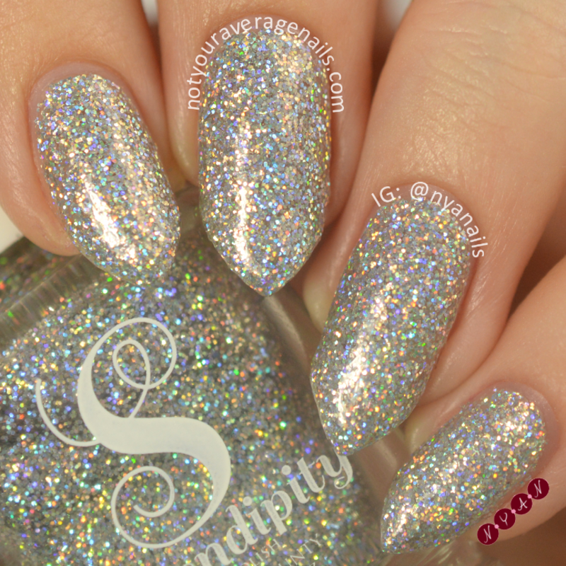Serendipity Polish Holo-Day Lights Swatch by Becca (nyanails)