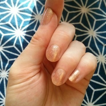 NCLA Party Favourite + Essie Sequin Sash nail art by Kitty