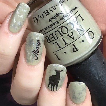 'After All This Time?' nail art by allwaspolished