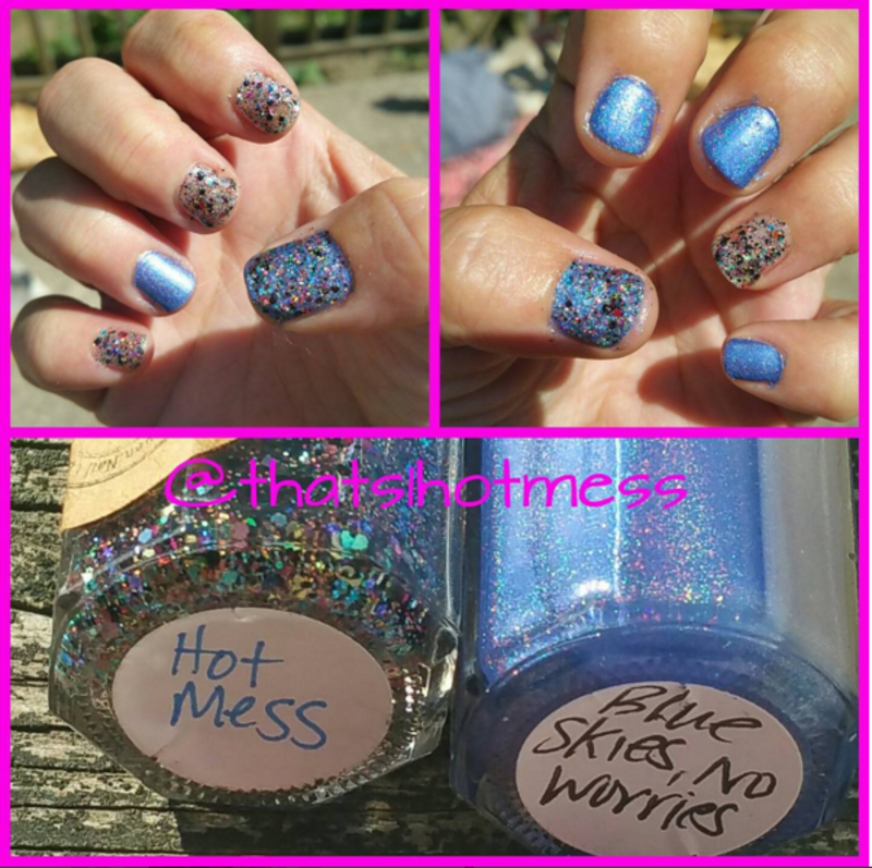 Hot Mess & Blue Skies, Now Worries Combo by Angela Streeter ...