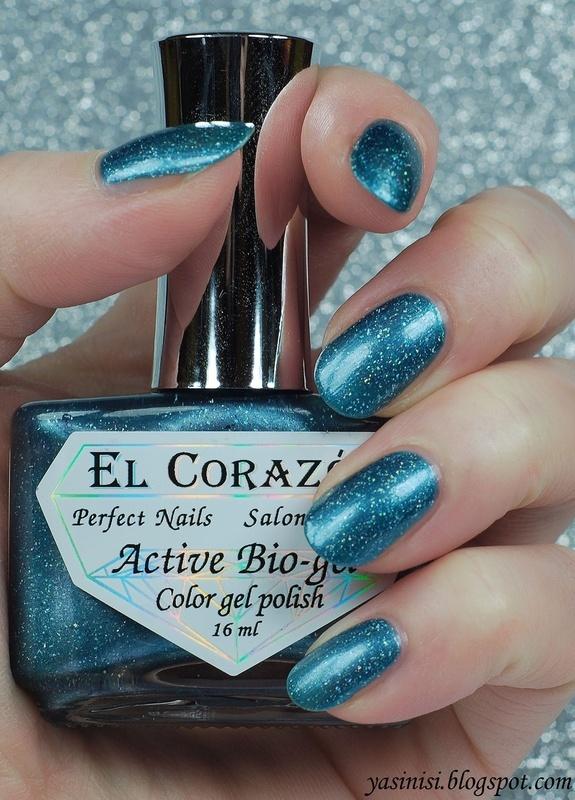 El Corazon Blue Quartz Swatch by Yasinisi