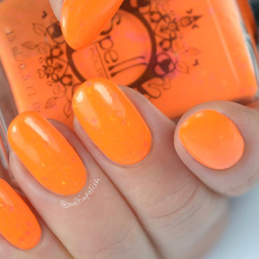 spell polish My Girl Wants to Party All the Time Swatch by Meltin'polish