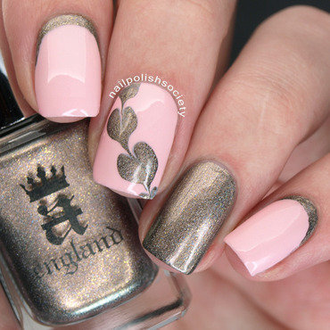 Sweetheart And Ruffian Valentine Nails nail art by Emiline Harris