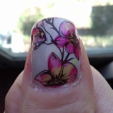 spring fever nail art by Sunny