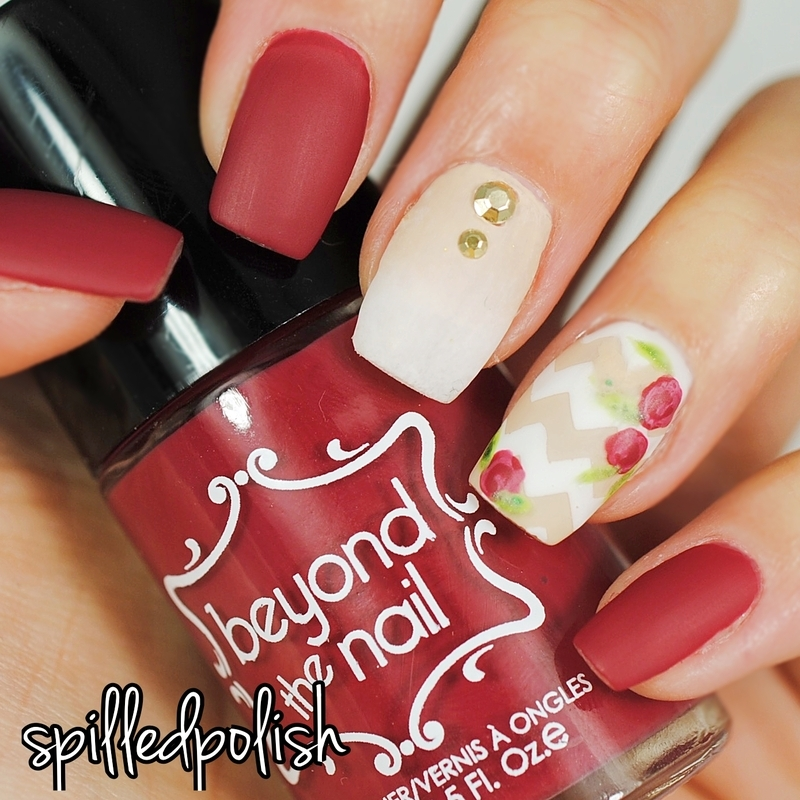 Inspiration from Instagram #8 nail art by Maddy S