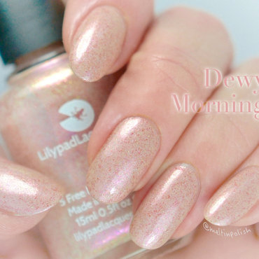 Lilypad Lacquer Dewy Morning Swatch by Meltin'polish