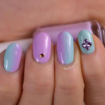 My Satisfaction nail art by Meltin'polish