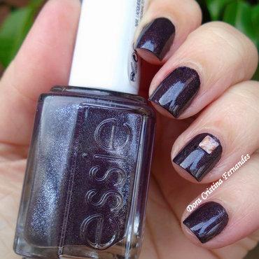 Frock N' Roll & Square Speckled Stud nail art by Dora Cristina Fernandes