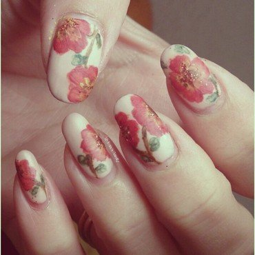 Blossoming 2 nail art by Vivienne's Vanity