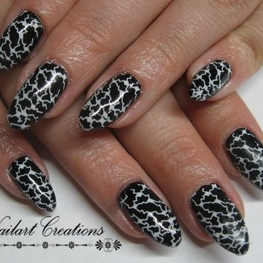 Cracks In The Wall  nail art by Nailart Creations