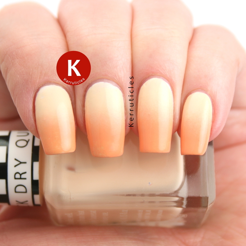 Pastel Orange Nail Polish Essie: Pastel Yellow And Orange Gradient Nail Art By Claire Kerr