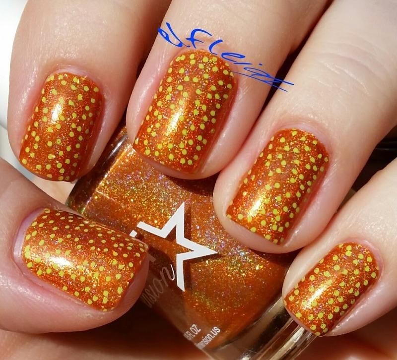 PAA Mani Monday 03-07-2016 nail art by Jenette Maitland-Tomblin