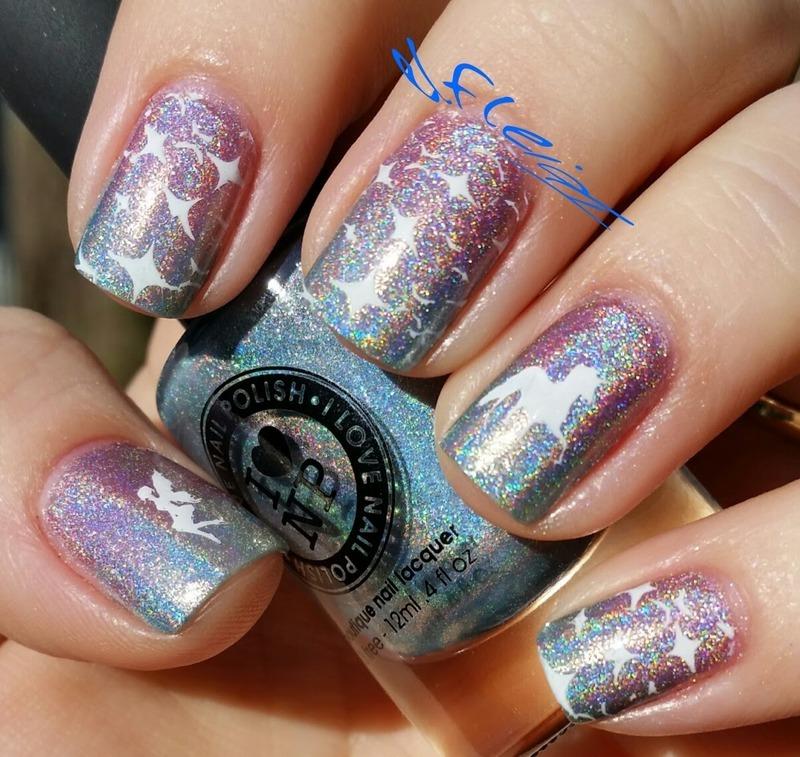Simply magical! nail art by Jenette Maitland-Tomblin