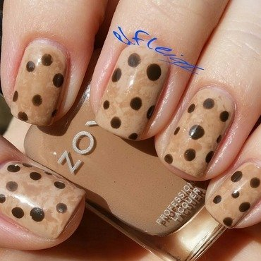 Cookies! nail art by Jenette Maitland-Tomblin