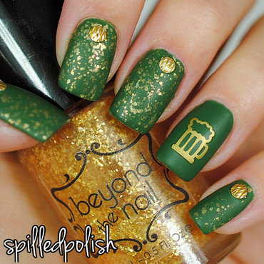 St. Patrick's Day Nails nail art by Maddy S