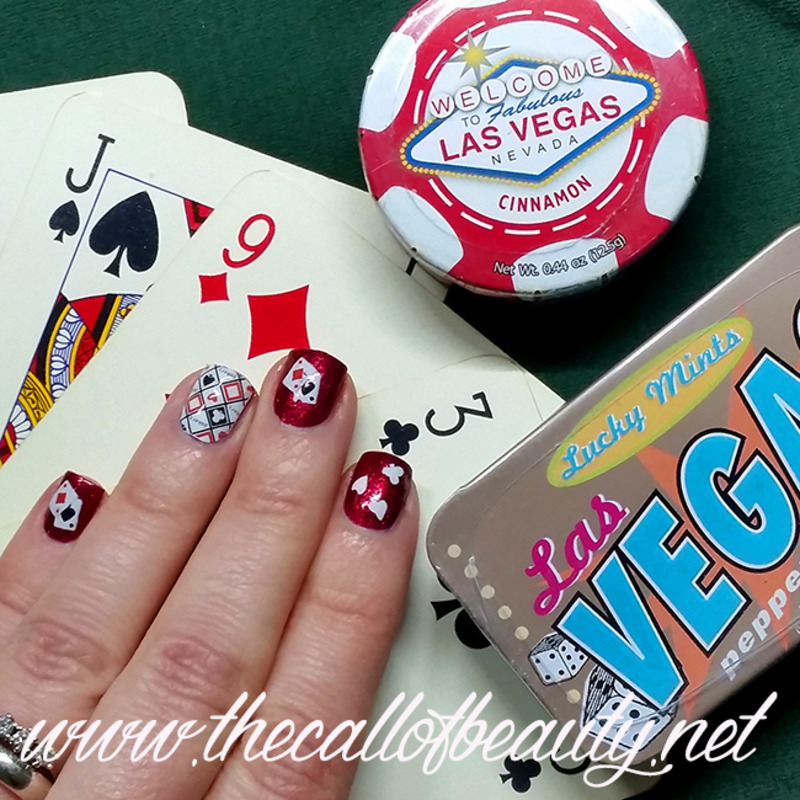Las Vegas Manicure Nail Art By The Call Of Beauty Nailpolis