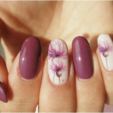 Spring nail art by Vivienne's Vanity