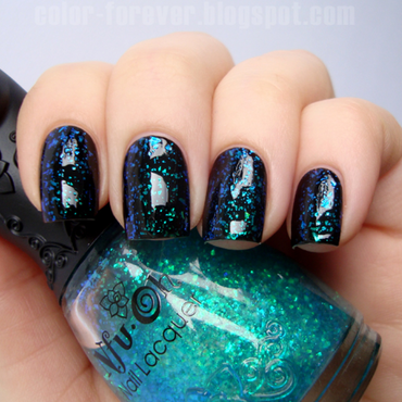 Nfu Oh 54 and My Secret Dressed In Black Swatch by ania