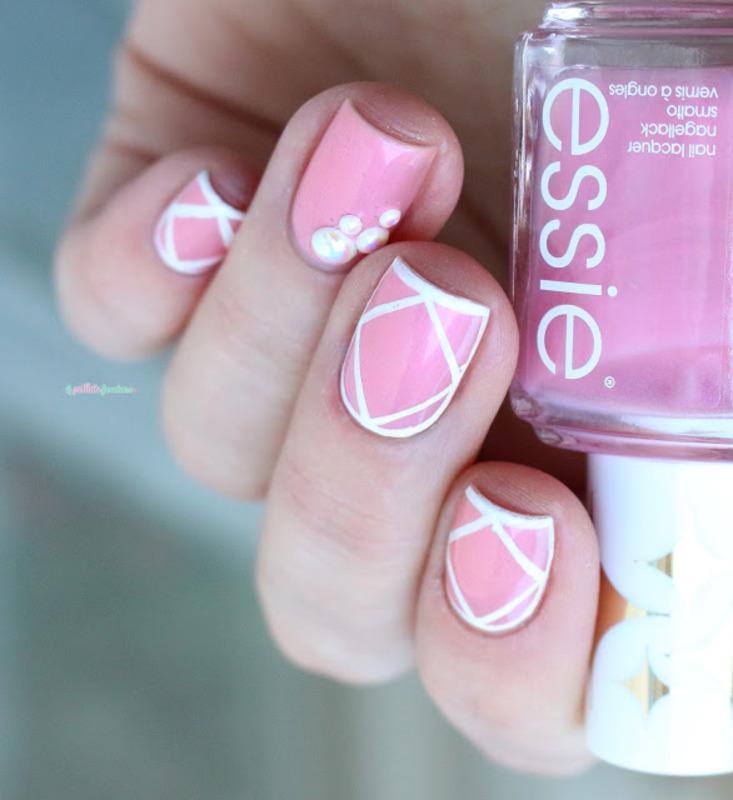 sweet girl nail art by nathalie lapaillettefrondeuse - Nailpolis ...