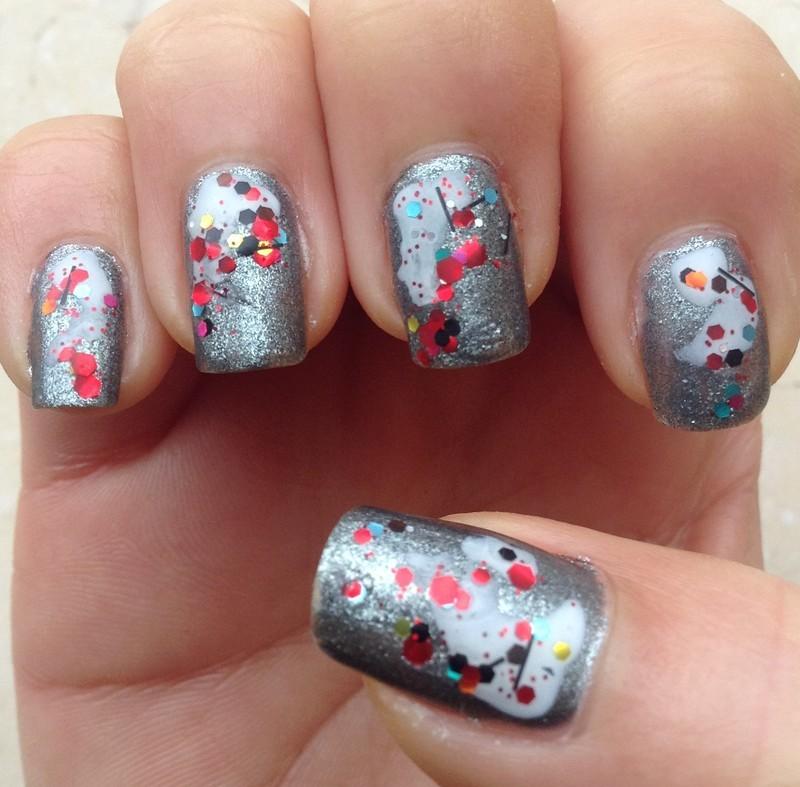 Abstract Modern Art (Part 2) nail art by Idreaminpolish