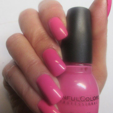 Sinful Colors Pink Forever Swatch by NinaB