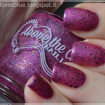 Above the Curve Friday 13th #4 Swatch by MiseryLovesBlue